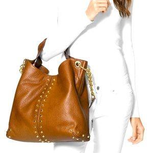 Michael Kors Leather Astor Shoulder Bag
